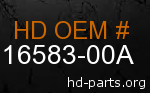 hd 16583-00A genuine part number