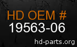 hd 19563-06 genuine part number