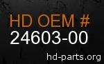 hd 24603-00 genuine part number
