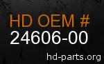 hd 24606-00 genuine part number