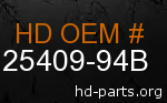 hd 25409-94B genuine part number