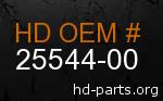 hd 25544-00 genuine part number