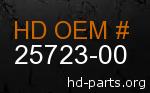 hd 25723-00 genuine part number