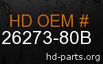 hd 26273-80B genuine part number