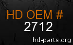 hd 2712 genuine part number