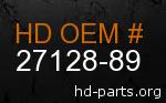 hd 27128-89 genuine part number