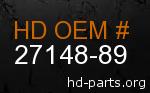 hd 27148-89 genuine part number