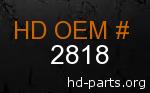 hd 2818 genuine part number