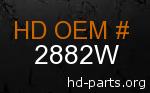 hd 2882W genuine part number