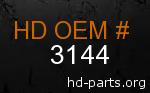 hd 3144 genuine part number