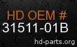 hd 31511-01B genuine part number