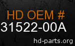 hd 31522-00A genuine part number