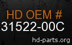 hd 31522-00C genuine part number