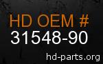 hd 31548-90 genuine part number