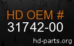 hd 31742-00 genuine part number