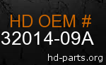 hd 32014-09A genuine part number