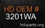 hd 3201WA genuine part number