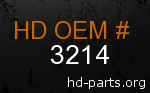 hd 3214 genuine part number