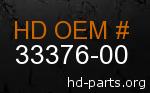 hd 33376-00 genuine part number