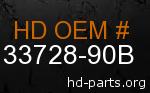 hd 33728-90B genuine part number