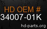 hd 34007-01K genuine part number