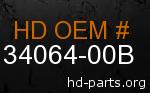 hd 34064-00B genuine part number