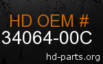 hd 34064-00C genuine part number