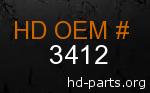 hd 3412 genuine part number
