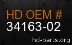 hd 34163-02 genuine part number