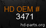 hd 3471 genuine part number