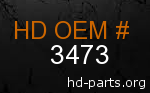 hd 3473 genuine part number