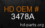 hd 3478A genuine part number