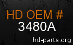 hd 3480A genuine part number