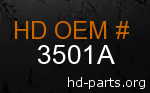 hd 3501A genuine part number
