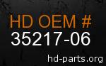 hd 35217-06 genuine part number