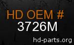 hd 3726M genuine part number