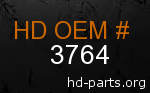 hd 3764 genuine part number