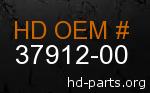 hd 37912-00 genuine part number