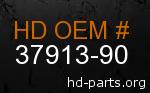 hd 37913-90 genuine part number