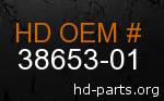 hd 38653-01 genuine part number