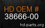 hd 38666-00 genuine part number