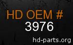 hd 3976 genuine part number