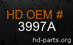 hd 3997A genuine part number