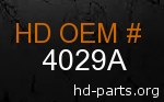 hd 4029A genuine part number