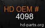 hd 4098 genuine part number
