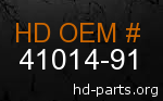 hd 41014-91 genuine part number