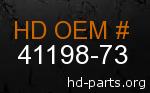 hd 41198-73 genuine part number