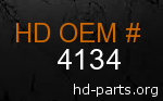 hd 4134 genuine part number