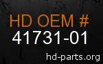 hd 41731-01 genuine part number