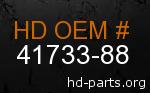 hd 41733-88 genuine part number